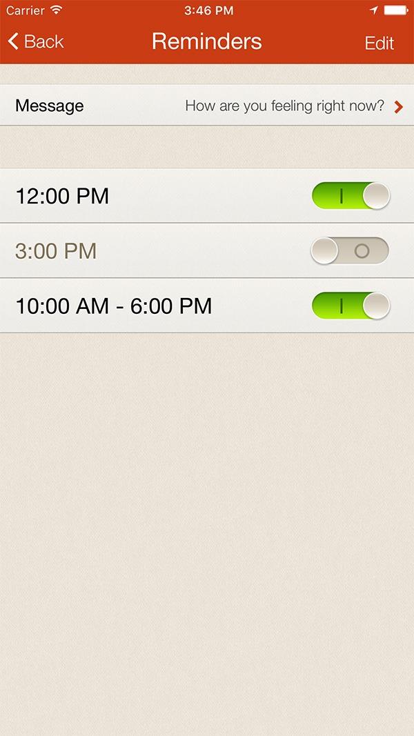 iMoodJournal – Mood Tracking Mobile Application